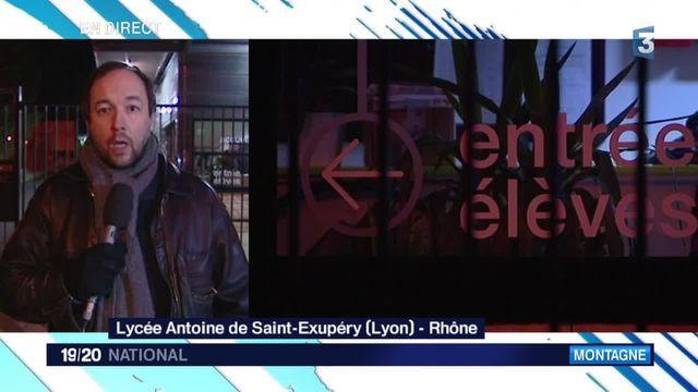 Avalanche dans les Alpes : l'émotion au Lycée Saint-Exupéry de Lyon