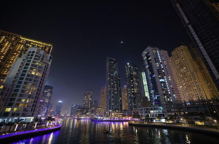 Dubai, le 16 février 2021. (GIUSEPPE CACACE / AFP)