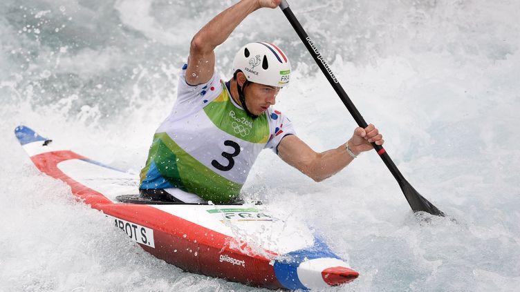 Sébastien Combot échoue dans sa quête de médaille à Rio (PHILIPPE MILLEREAU / DPPI MEDIA)