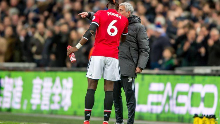 Mourinho et Pogba (UKSP / SPAINDPPI)