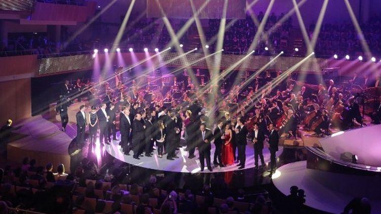 La scène des Victoires de la Musique Classique 2013  (NICOLAS TUCAT / AFP)