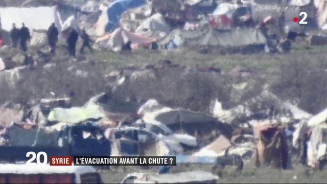 Syrie : l'évacuation avant la chute ?
