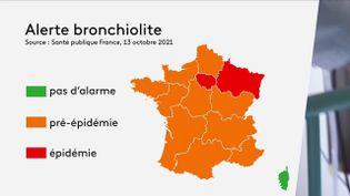 Santé : la bronchiolite frappe de plein fouet l'Île-de-France et le Grand-Est (FRANCE 3)