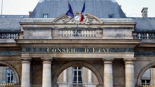 Le Conseil d'Etat à Paris, le 25 mai 2020. (MARTIN NODA / HANS LUCAS / AFP)