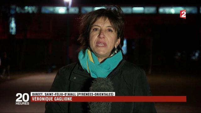 Saint-Féliu-d'Avall : les habitants rendent hommage aux victimes de l'accident