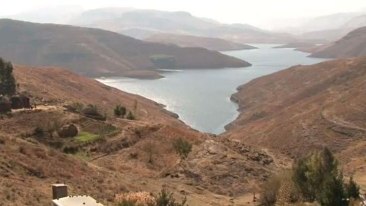 Mohale, l'un des deux barrages du Lesotho. (AFP)