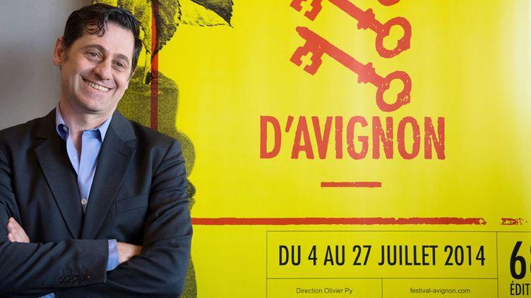 Olivier Py, le directeur du festival d'Avignon  (Bertrand Langlois / AFP)