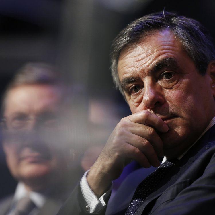 François Fillon, le 21 octobre 2016, lors d'un meeting à Caen (Calvados). (CHARLY TRIBALLEAU / AFP)