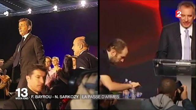 Primaire de droite : Nicolas Sarkozy et François Bayrou règlent leurs comptes