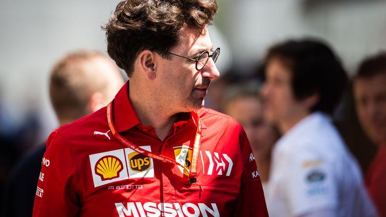 Mattia Binotto, le patron de Ferrari. (ANTONIN VINCENT / DPPI MEDIA)