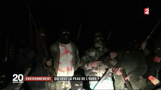 Ariège : des hommes armés et cagoulés annoncent la réouverture de la chasse à l'ours dans une vidéo