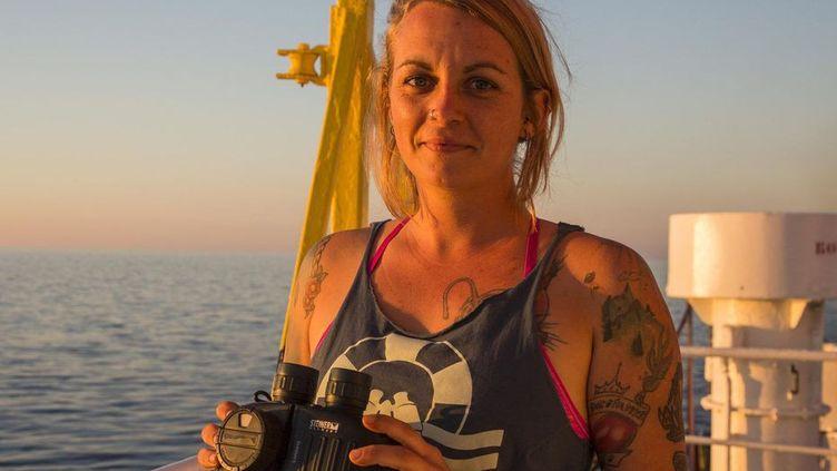 """Pia Klemp, une des capitaines du """"Sea Watch 3"""", a refusé une médaille de la Ville de Paris. (SEA WATCH)"""