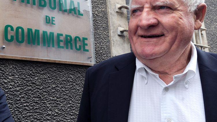 Laurent Spanghero, le cofondateur de l'entreprise, le 2 juillet 2013, à Carcassonne (Aude). (ERIC CABANIS / AFP)