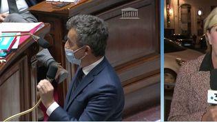 Mardi 12 octobre à 14 heures, le président des évêques de France était reçu par Gérald Darmanin, suite à ces propos polémiques sur le secret de la confession. Notre journaliste Nathalie Perez est sur place pour résumer l'entretien entre les deux personnalités. (CAPTURE D'ÉCRAN FRANCE 3)
