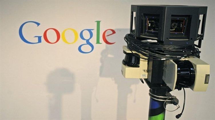 Une caméra de voiture Street View - 03/03/10 (AFP Nigel Treblin)