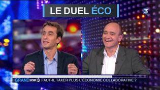 Etienne Lefebvre et Christophe Ramaux (FRANCE 3)