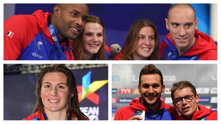 Les médaillés Français du 8 août