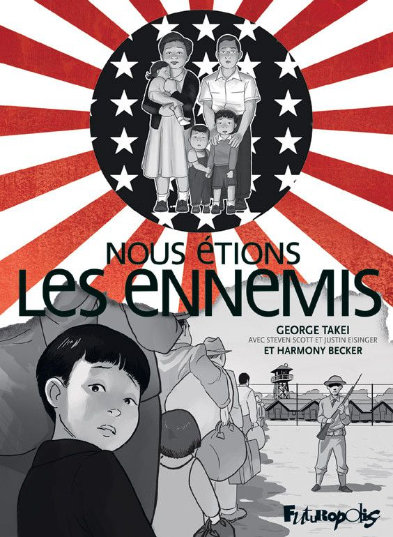 """La couverture de """"Nous étions les ennemis"""", un album de bande dessinée disponible aux éditions Futuropolis. (FUTUROPOLIS)"""