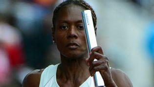 Merlene Ottey,sprinteuse jamaïcaine. (OLIVIER MORIN / AFP)