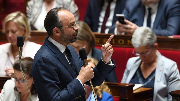 Le Premier ministre Edouard Philppe lors des questions au gouvernement à l'Assemblée nationale, le 12 juin 2018. (ALAIN JOCARD / AFP)