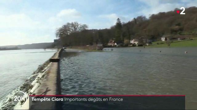 Tempête Ciara : d'importants dégâts en France