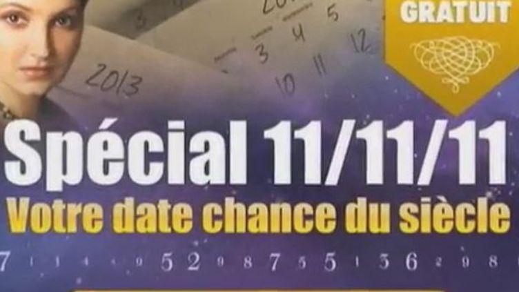 Le 11/11/11 Une journée comme toutes les autres pour jouer (VIDÉO : CLÉMENT LE GOFF ET ELSA MONDIN-GAVA - FRANCE 2)