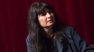 """Valérie Perrin a obtenu le prix Maison de la Presse pour """"Changer l'eau des fleurs""""  (VALERIE MACON / AFP)"""