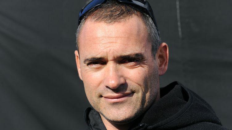 Yann Guichard, le skipper de Spindrift 2 (FRED TANNEAU / AFP)