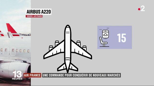 Air France : la compagnie se tourne vers l'A220