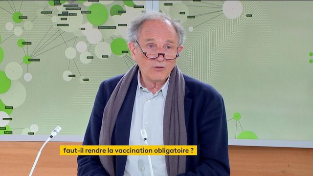 """Covid-19 : """"Ce n'est pas le moment de braquer les gens inutilement"""" avec la vaccination obligatoire, estime un représentant de la Fédération des médecins de France"""