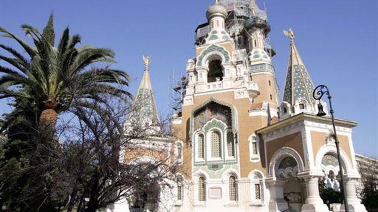 La cathédrale russe de Nice (en 2006) (AFP/Pascal Guyot)