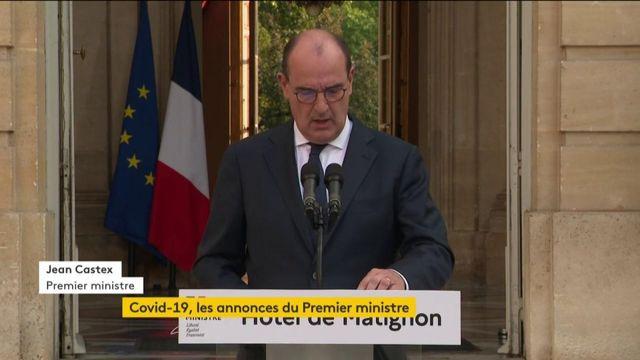 """Jean Castex : """"Le virus circule de plus en plus en France"""""""