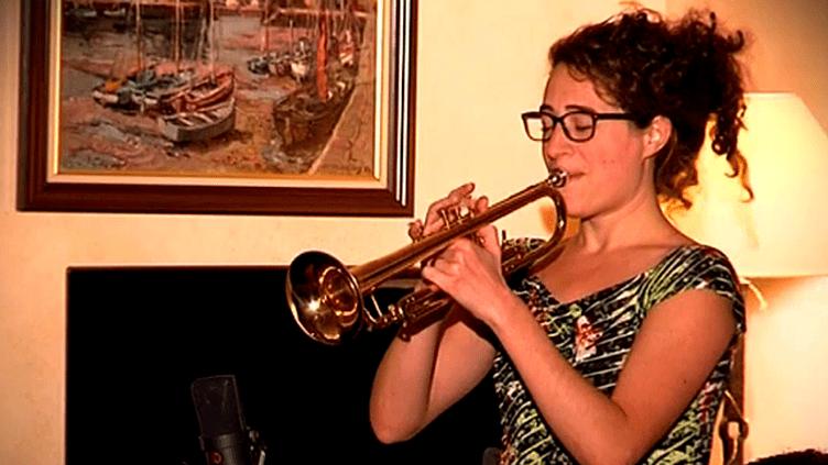 La trompettiste Airelle Besson  (France 3)
