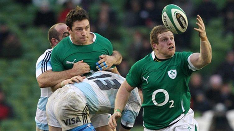 David Wallace et Sean Cronin (Irlande)