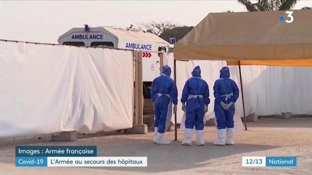 Pandémie : le rôle de l'armée pour désengorger les hôpitaux