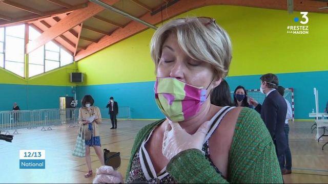 Aube : distribution de masques pour les habitants de Troyes