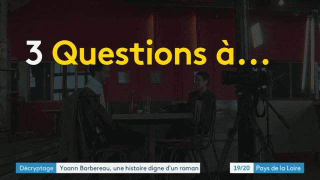 3 questions à Yoann Barbereau