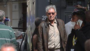 """Harrison Ford sur le tournage du cinquième """"Indiana Jones"""", à Cefalù en Sicile (2021) (SICILY1 / IPA / MAXPPP)"""