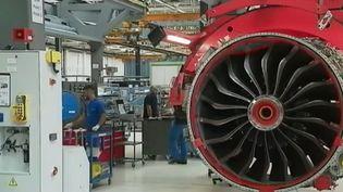 La plupart des avions moyen-courriers dans le monde sont équipés de moteurs français. Safran fournit tous les grands constructeurs de la planète. (France 3)