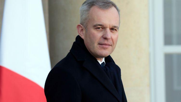 Le ministre de la Transition écologique et solidaire François de Rugy. (LUDOVIC MARIN / AFP)