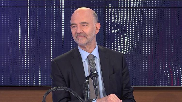 Pierre Moscovici, premier président de la Cour des comptes, invité de franceinfo le 16 juin 2021.  (FRANCEINFO / RADIO FRANCE)