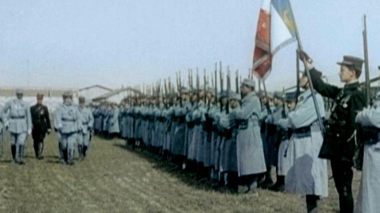 La Première Guerre Mondiale en couleur  (France3/Culturebox)