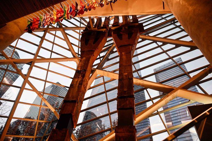 Poutrelles dans le 09/11 Memorial (Jean-Claude Desjacques)