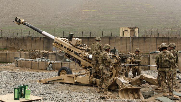 Des soldats américains dans la province de Kunar (Afghanistan), le 20 mars 2012. (ERIK DE CASTRO / REUTERS)