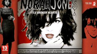 """Little Broken Hearts"" dernier album de Norah Jones  (F2 / Culturebox)"