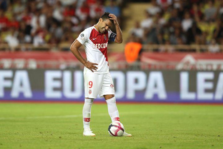 Radamel Falcao (Monaco-Lille) (VALERY HACHE / AFP)