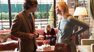 """Gatsby (Timothée Chalamet) et Ashleigh (Elle Fanning) dans """"Un jour de pluie à New York"""", de Woody Allen (JESSICA MIGLIO)"""