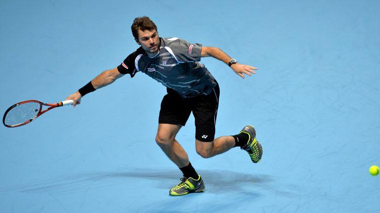 Wawrinka s'est bien remis de la leçon infligée mercredi par Djokovic (GLYN KIRK / AFP)