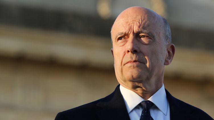 Alain Juppé, le 19 mars 2014 à Bordeaux (Gironde). (NICOLAS TUCAT / AFP)