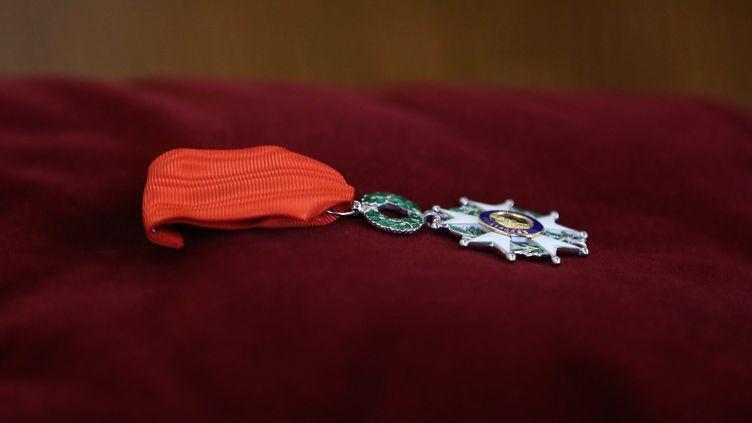 La traditionnelle promotion civile de la Légion d'honneur et de l'Ordre national du mérite a été publiée dimanche 1er janvier 2017 au Journal officiel. (MAXPPP)